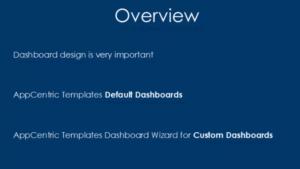 How to Create a Custom Dashboard using Dashboard Wizard