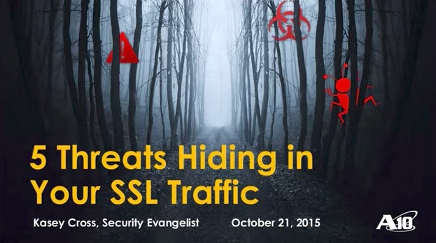 5 Threats Hiding in Your SSL Traffic
