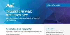 Thunder CFW IPsec site-to-site VPN
