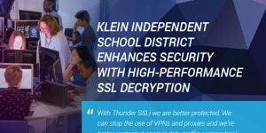 Klein Independent School District Case Study