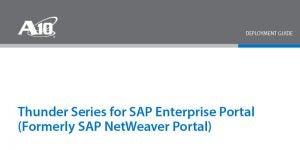SAP Enterprise Portal (Formerly SAP NetWeaver Portal) Deployment Guide