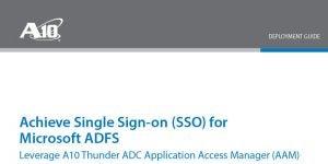 Microsoft ADFS: SAML 2.0 Single Sign-on (SSO) Deployment Guide