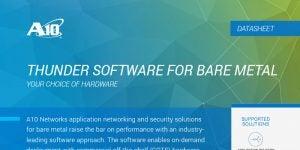 Thunder Software for Bare Metal Datasheet