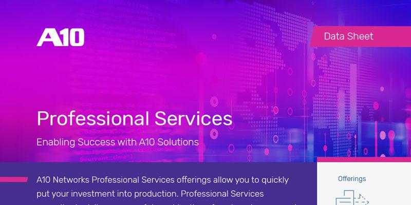 A10 Networks Professional Servcies
