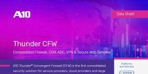 Thunder CFW High-Performance Versatile Firewall Datasheet