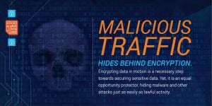 Malicious Traffic Hides Behind Encryption
