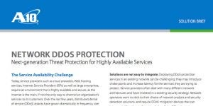 Network DDoS Protection