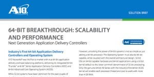 64-Bit Breakthrough: Scalability and Performance