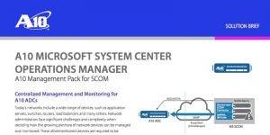 Microsoft System Center Operation Manager (SCOM)