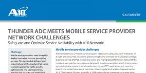 Meeting Mobile Service Provider Network Challenges