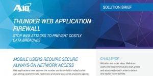 Thunder Web Application Firewall