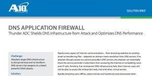 DNS Application Firewall