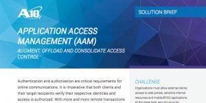 Application Access Management (AAM)
