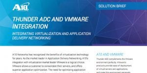 VMware and Thunder ADC Integration