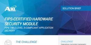 FIPS-Certified Hardware Security Module