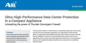Ultra-High-Performance Data Center Protection in a Compact Appliance