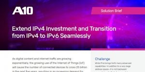 Transition from IPv4 to All-IPv6 Networks Transparently and with the Lowest TCO