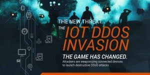 The New Threat: The IoT DDoS Invasion