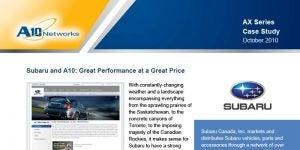 Subaru Canada Case Study