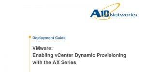 VMware (Enabling vCenter Dynamic Provisioning) Deployment Guide
