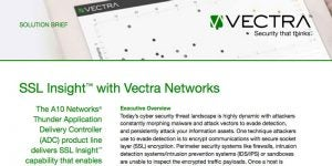 SSL Insight with Vectra Networks