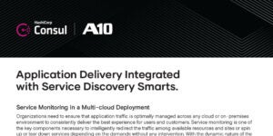 Application Delivery Integrated with Service Discovery Smarts