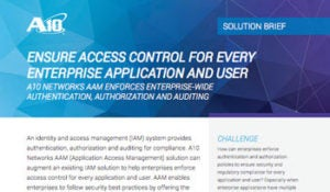 Ensure Access Control for Every Enterprise Application Solution Brief