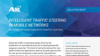 Intelligent Traffic Steering in Mobile Networks
