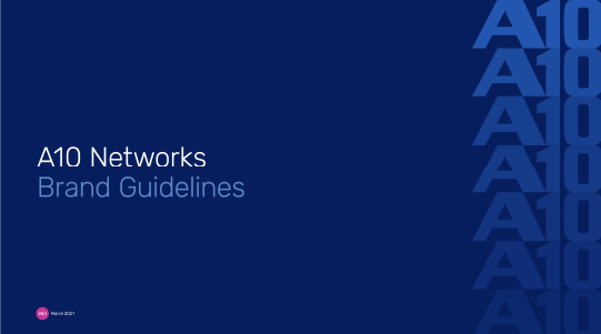 A10 Networks Brand Guide