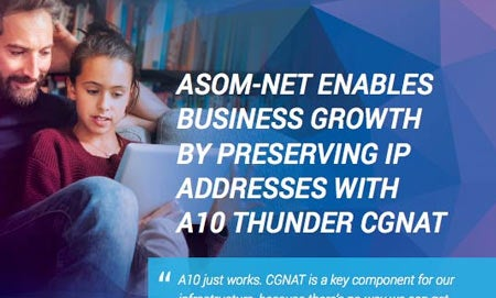 ASOM-Net Case Study, Preserving IP Addresses with Thunder CGNAT