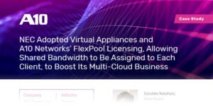 NEC Case Study, Shared Bandwidth to Boost Multi-cloud business