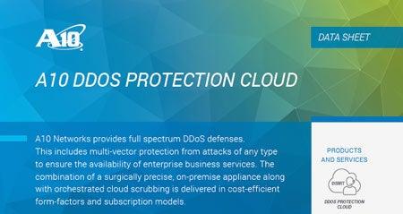 DDoS Protection Cloud Data Sheet