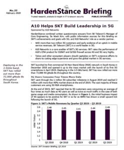 HardenStance Briefing: A10 Helps SKT Build Leadership in 5G