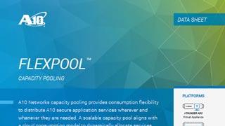 FlexPool Capacity Pooling Data Sheet