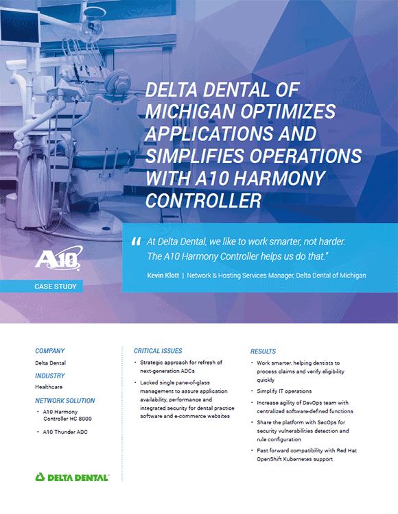 Delta Dental Case Study, Optimizes Applications