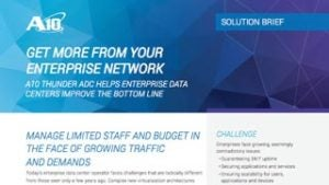 Get More from Your Enterprise Network Solution Brief