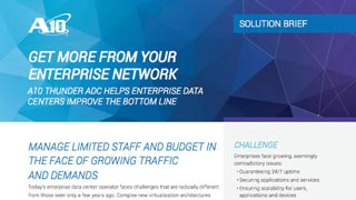 Get More from Your Enterprise Network