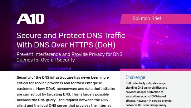 Secure and Protect DNS Traffic With DNS Over HTTPS (DoH)