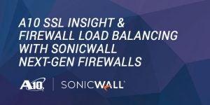 A10 SSL Insight & Firewall Load Balancing with Sonicwall Next-Gen Firewalls