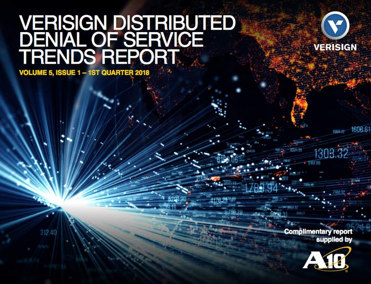 Verisign Distributed Denial of Service Trends Report