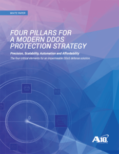 Four Pillars For a Modern DDoS Protection Strategy