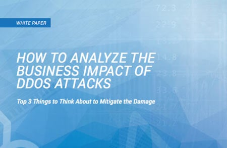 How to Analyze the Business Impact of DDoS Attacks
