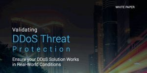 Validating DDoS Threat Protection