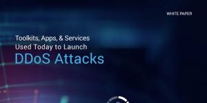 Toolkits, Apps and Services Used Today To Launch DDoS Attacks