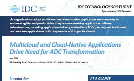 Multicloud and Cloud-Native Applications Drive Need for ADC Transformation
