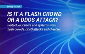 Is It a Flash Crowd or a DDoS Attack?