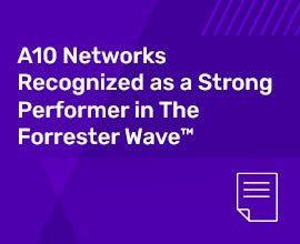 Forrest Wave: A10 Recognized as a Strong Performer