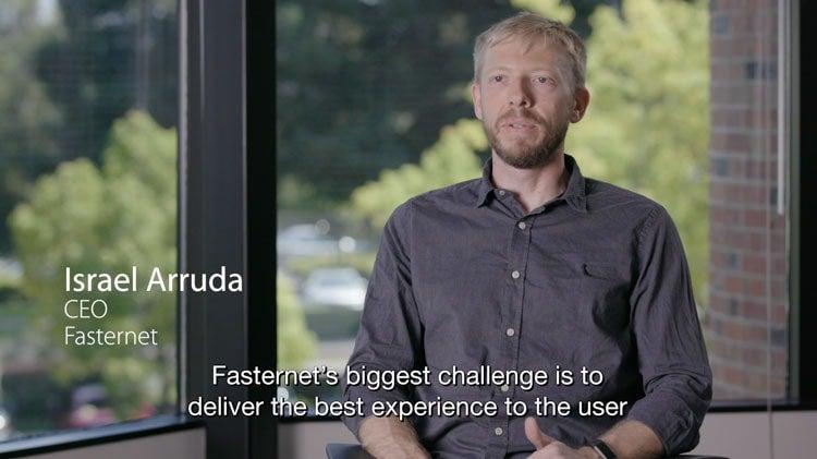 Fasternet Customer Video Testimonial