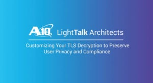 Customizing your TLS Decryption to Preserve User Privacy and Compliance