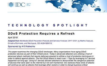 DDoS Protection Requires a Refresh